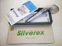 Forrásvíz Webáruház által forgalmazott Silverex zuhanyfej